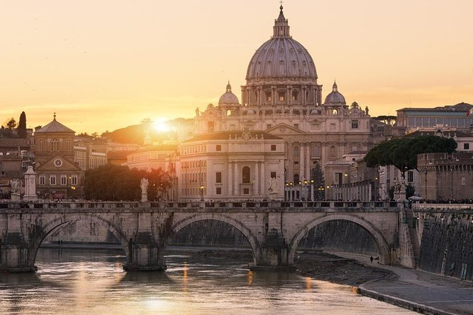 Rome Pre-Post Cruise Private Tour with Fco Airport arrival-departure
