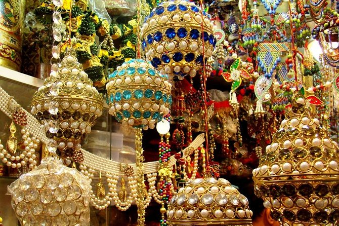 Shop till you drop! Guided Shopping Tour of the Local Markets of Delhi.