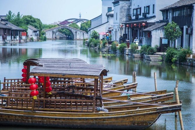 Private Round Trip Transfer to Tongli Water Town from Shanghai