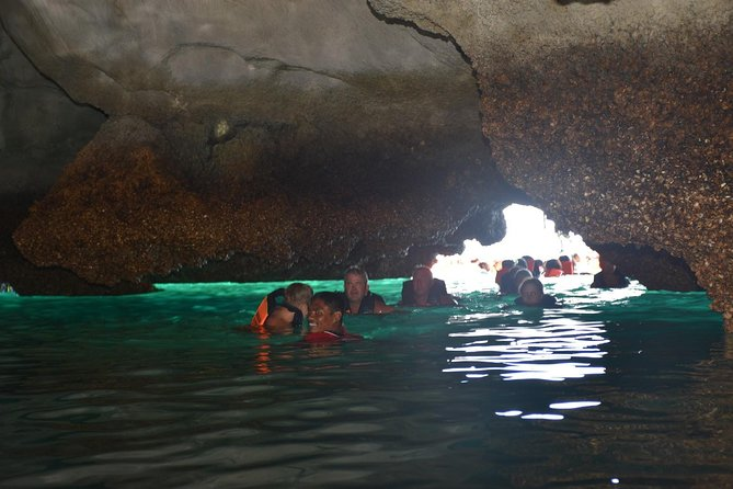 4 Island Tour to Emerald Cave at Koh Mook by Big Boat from Koh Lanta