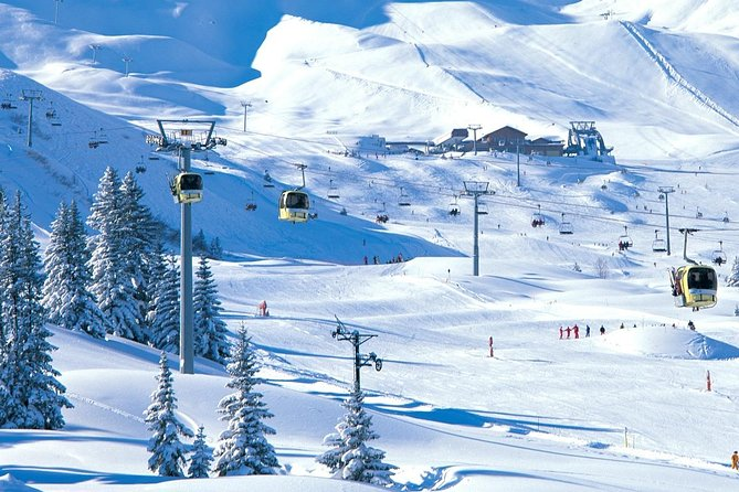 Your VIP transfer from Chambery Airport to Avoriaz (Mercedes V-class)