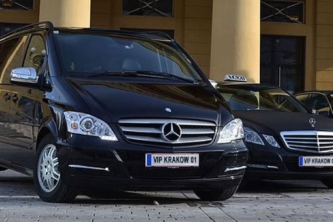 Private transfer from Krakow - up to 120 km