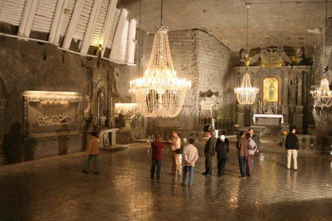 Salt-Mine Wieliczka Round-Trip Private Transfer Premium from Krakow