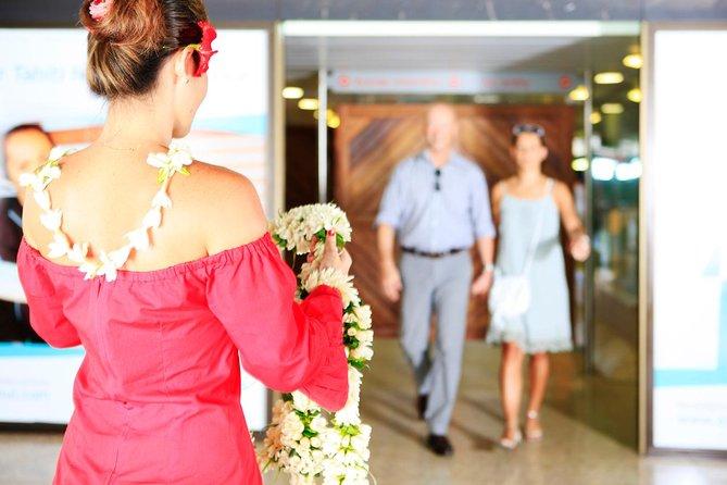 Transfert d'arrivée privé: de l'aéroport de Papeete à votre hôtel ou votre port de croisière