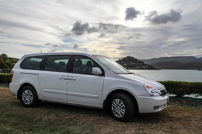 Shuttle from Airlie beach to Proserpine airport