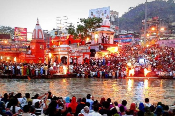 Private Tour: Haridwar and Rishikesh Day Tour from Delhi