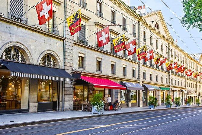 Geneva Sunset Tour with Open Top Bus