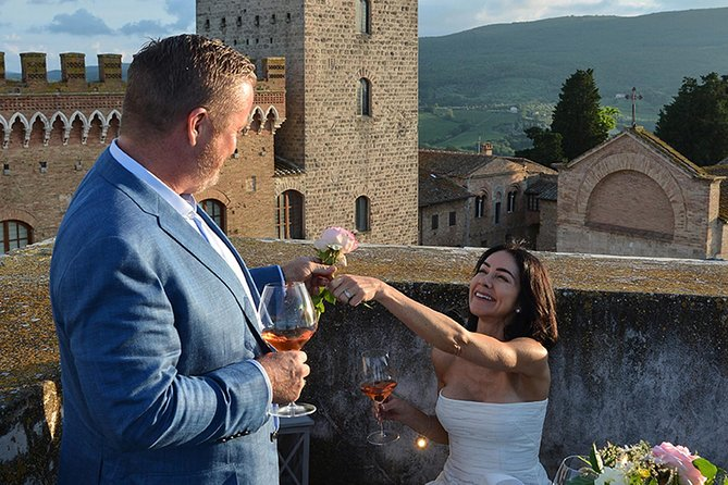 Aperitif and Photoshoot in a private medieval Tower