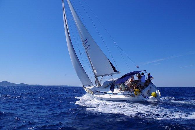 Half Day Sailing Zadar Channel from Zadar