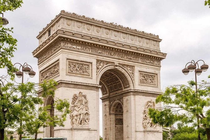 Arc de Triomphe and Seine River Cruise