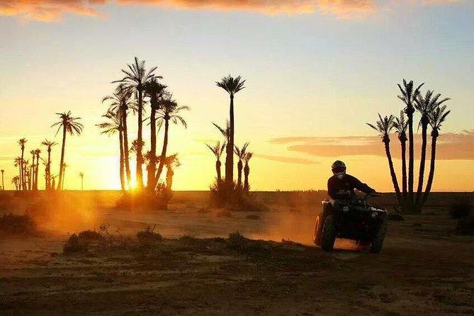 Agadir Quad Biking tour in mini Sahara desert