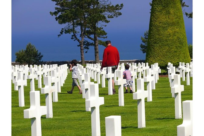 D-Day private tour Omaha Beach from Caen with audio guide.