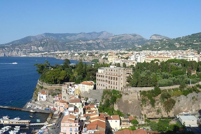 Transfer From Sorrento To Rome (1-8pax)