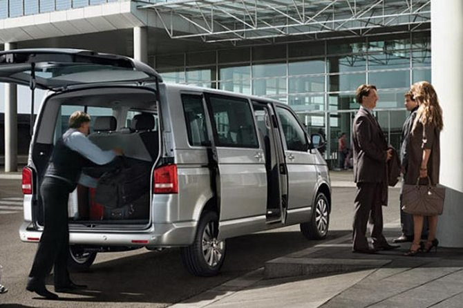 Private transfer from Nice City to Nice Airport