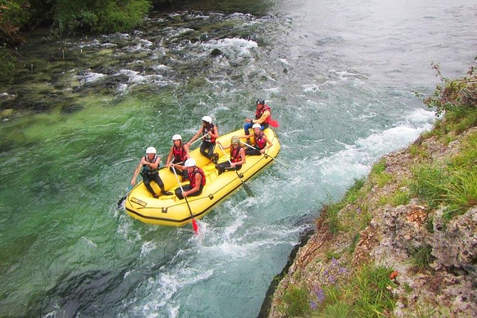 The best Rafting on Sava river in Bled