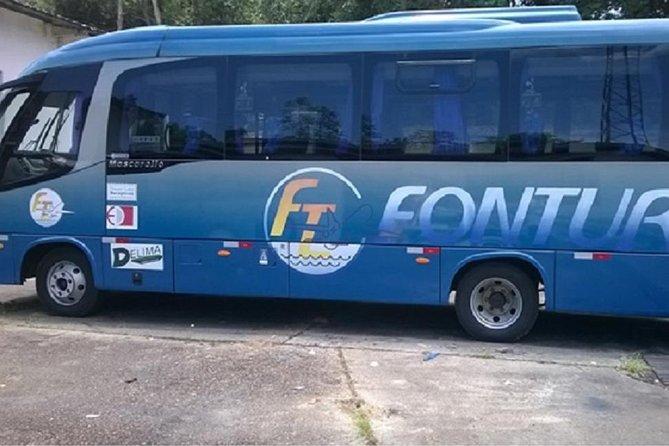 Traslado compartilhado dos hotéis para o aeroporto de Manaus
