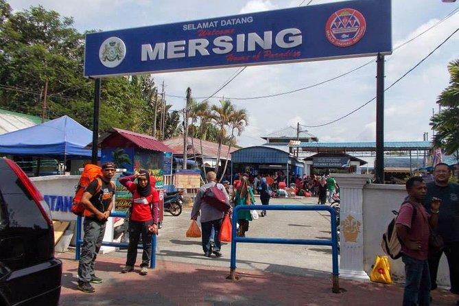 Johor Bahru to Mersing jetty Private Transfer