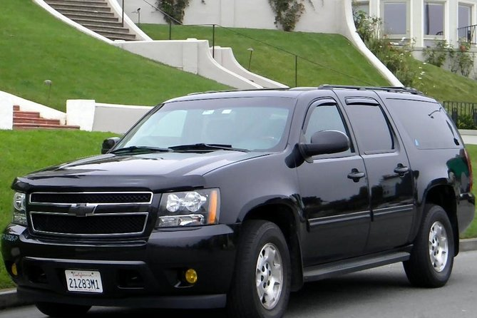 Private transfer from Sausalito to San Francisco Airport up to 6 passenger