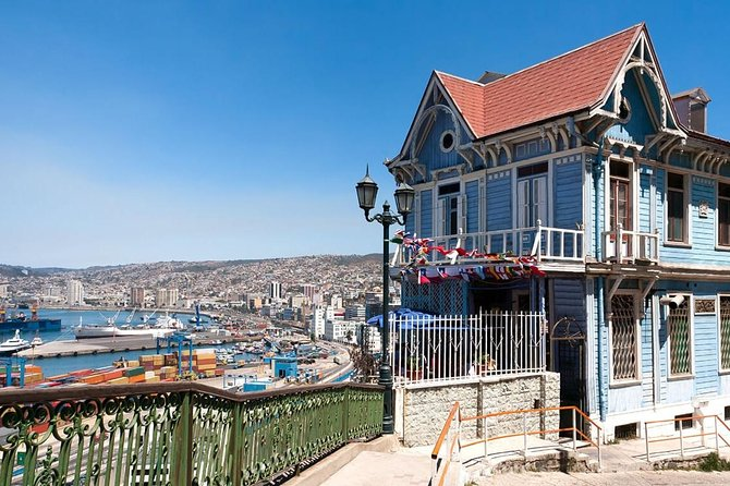 Private Transportation from Santiago to Port of Valparaíso or San Antonio