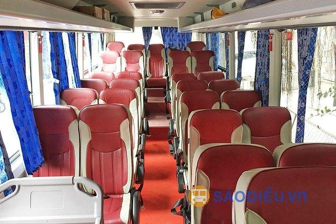 Bus transfer between Hanoi - Cat Ba Island