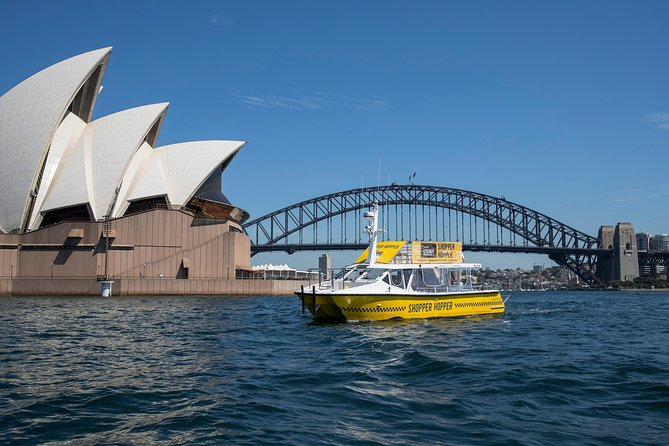 Sydney to Birkenhead Shopping Outlet Ferry with Waterfront Dining