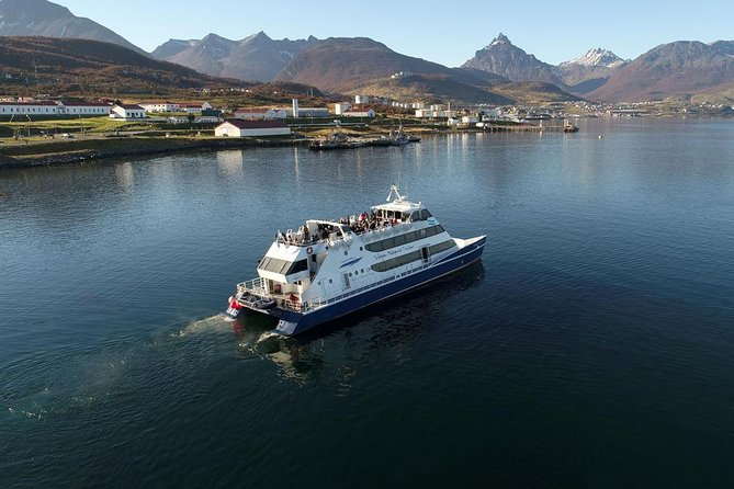 Beagle Channel Navigation with trekking at the Bridges Islands