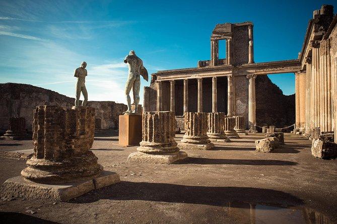 Pompeii & Vesuvius - Daily From Sorrento