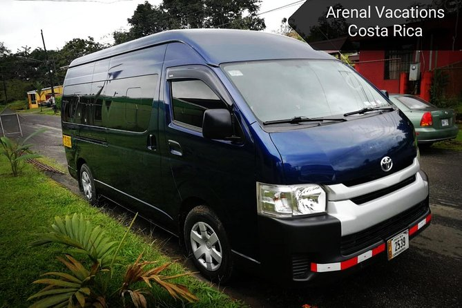 Ground Transportation from Tamarindo Beach to LA Fortuna-Arenal