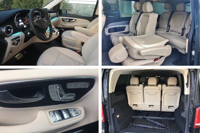 Mercedes Benz V class, interior
