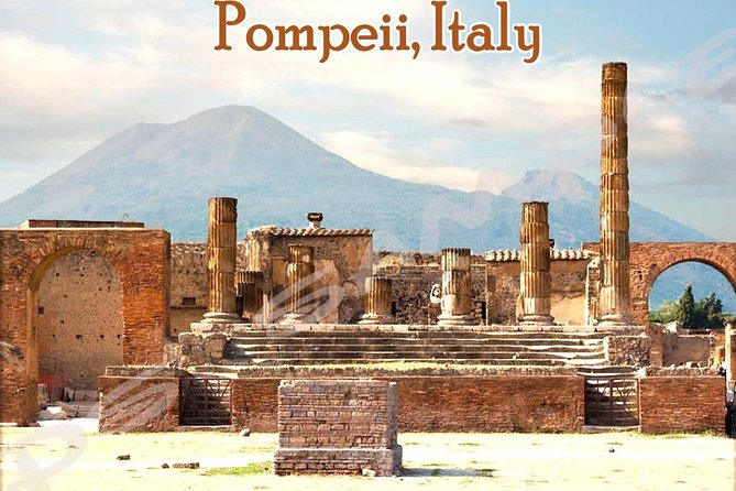 Transfer from your hotel in Amalfi coast to Naples and stop in Pompeii