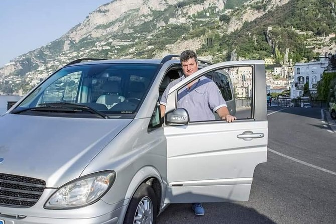 Transfer from and to Naples (city, train station, airport) From Amalfi Coast