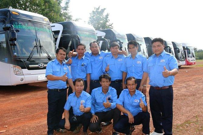 Tourist Bus:Vang Vieng to Vientiane