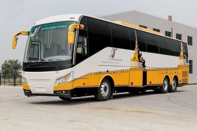 Ônibus VIP de Yangon para Bagan