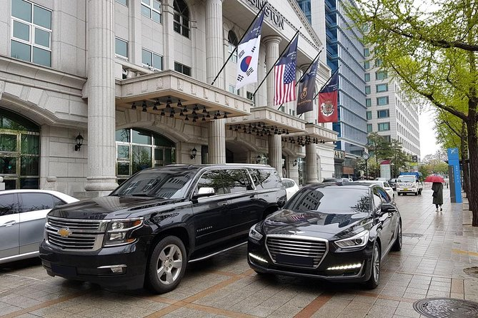 Private Arrival Transfer: Gimpo International Airport to Seoul Hotels