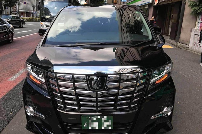 Osaka ITM Airport to Kyoto Center door to door Private Transfer 6 seats Alphard