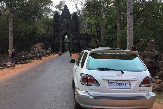 Private taxi transfer Phnom Penh to Siem Reap