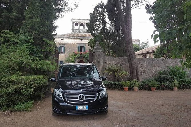 Private transfer from Palermo airport to Cefalù and viceversa