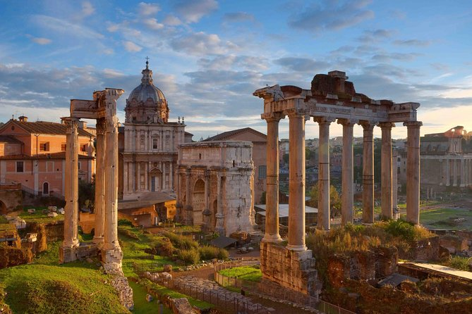 Colosseum and Roman Forum (Ancient Rome)