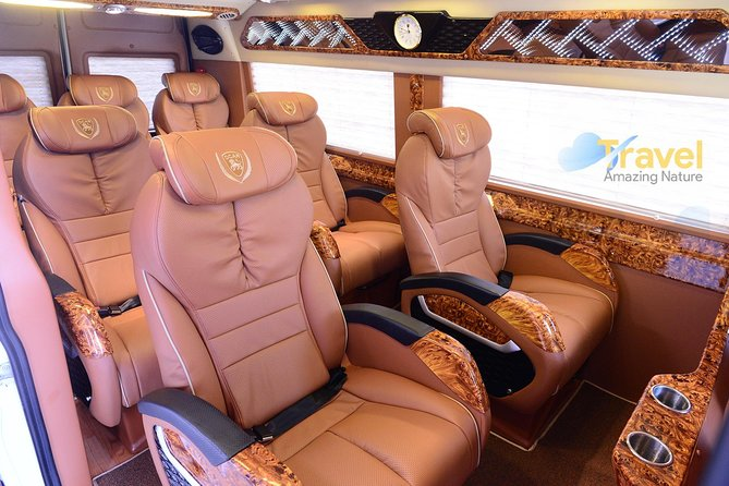 Morning limousine D-car 8-seat transfer to Hanoi airport depart from Sapa