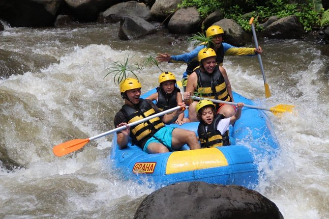 Ubud Ayung River Rafting with Private Transfer