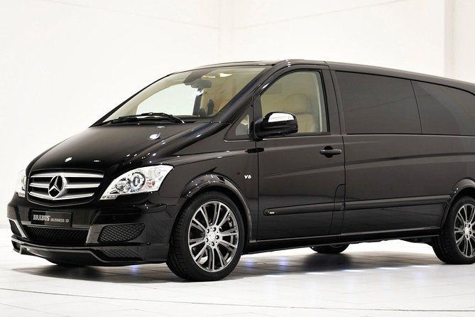 Departure Private Transfer Bratislava City to Vienna Airport VIE by Luxury Van