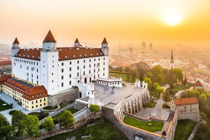 Bratislava by Yourself from Vienna by Business Car with English Chauffeur