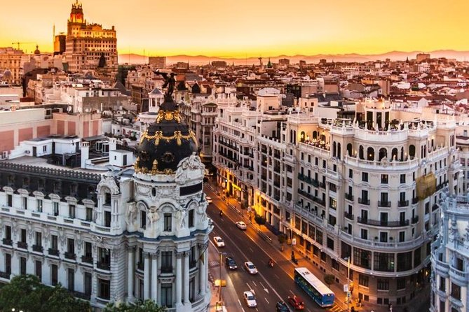 Madrid by Yourself with English Chauffeur by Private Vehicle