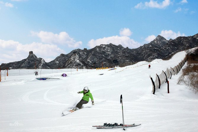 Small group to Beijing Huai Bei International Ski Resort with private transfer