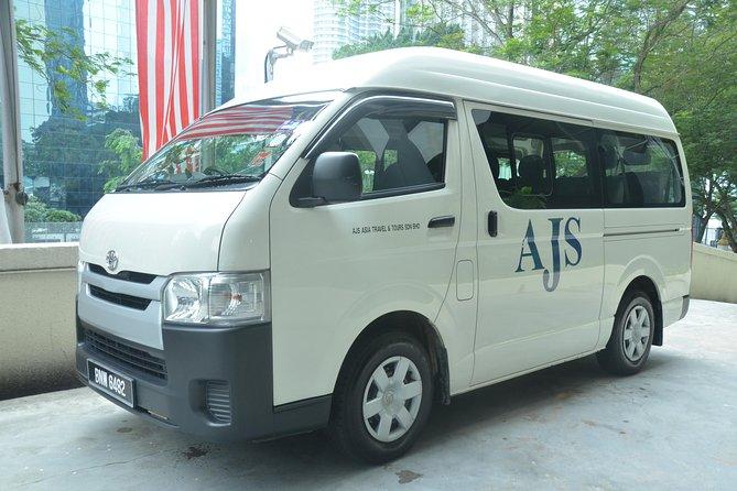 Private Transfer: Marina Island Jetty (Lumut) to Kuala Lumpur City Hotels