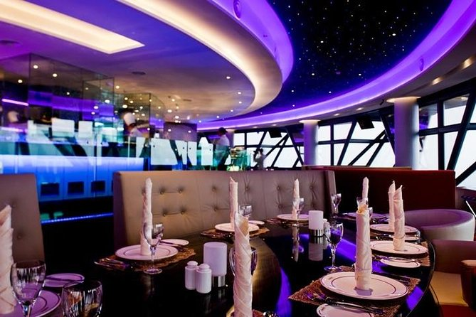 Private 2 Way Dinner Transfer To Atmosphere 360 Restaurant