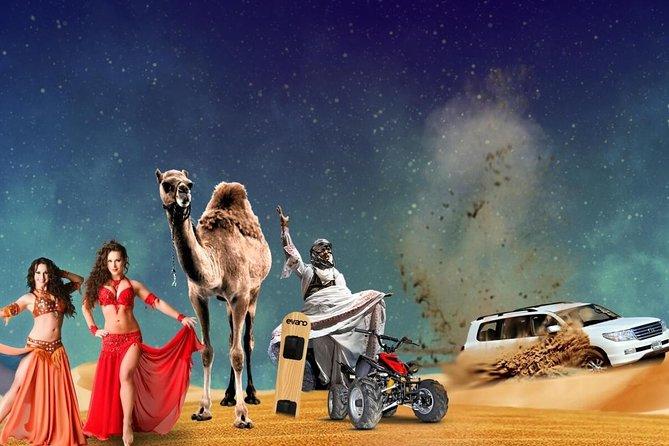 Desert Safari Dubai Quad, Camel Ride, Vip Majlis, All Exclusive Services