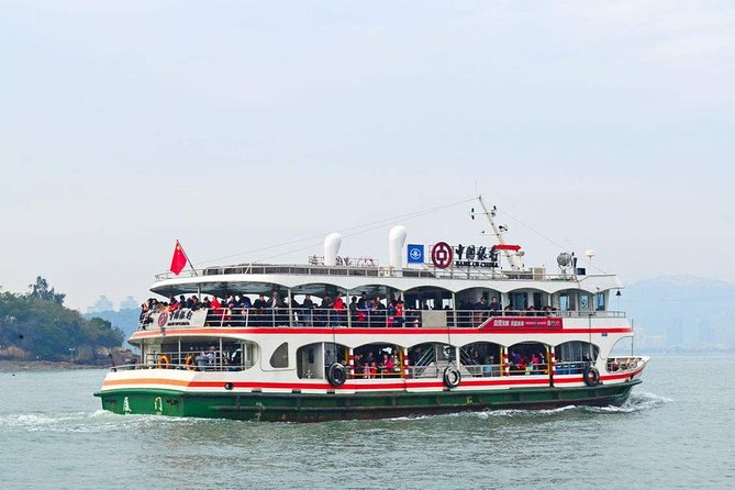 Gulangyu Ferry Ticket between Xiamen and Sanqiutian Pier with private transfer