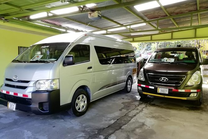 Transfer Private From Jaco Beach to San José or Airport up to 5 passengers