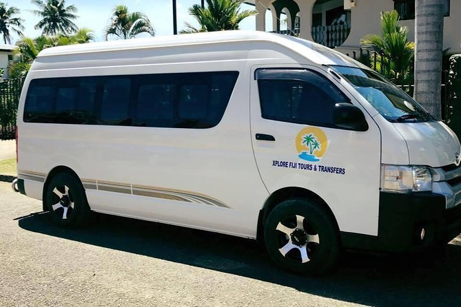 SHARED TRANSFER FROM DENARAU HOTELS TO NADI AIRPORT (RUNS EVERY HOUR)